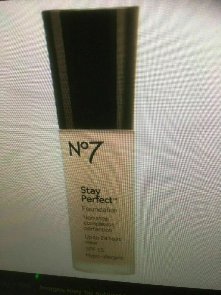 No7 Stay Perfect Foundation BEIGE 30ml